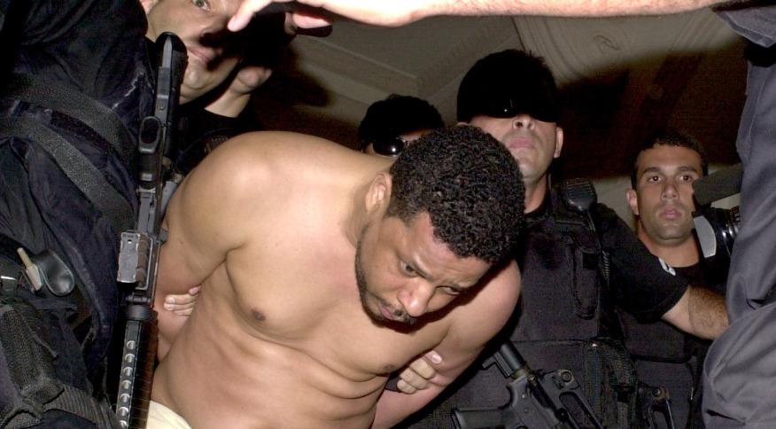 O traficante Elias Maluco, assassino do jornalista Tim Lopes