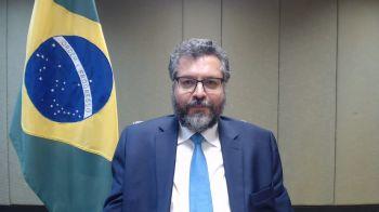 Pressionado, principalmente por parlamentares, chanceler colocou o cargo à disposição do presidente Jair Bolsonaro