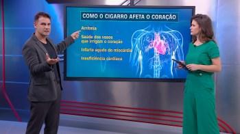 Tabaco causa 20% das mortes por doenças cardiovasculares, segundo estudo divulgado pela OMS
