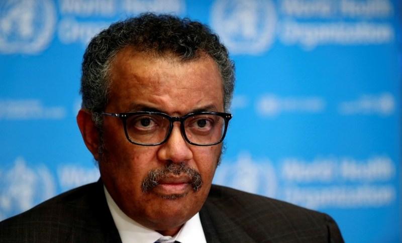 Diretor-geral da OMS, Tedros Adhanom, anuncia projeto em parceria com a Fifa
