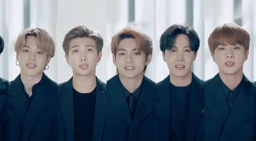 BTS faz discurso em vídeo na Assembleia Geral da ONU