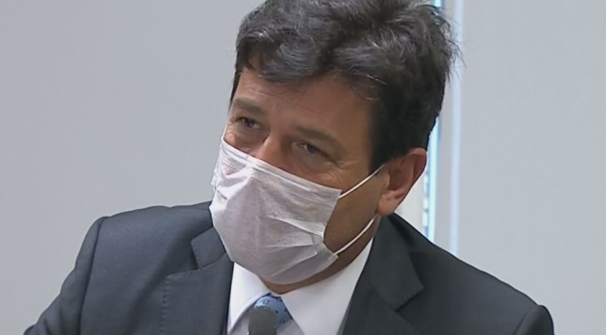 O ministro da Saúde, Luiz Henrique Mandetta, atualiza cenário do coronavírus