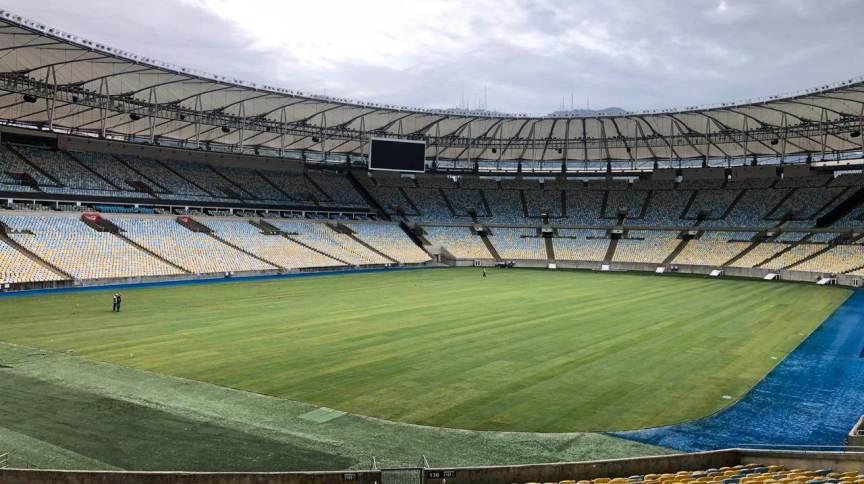Estádio do Maracanã no Rio de Janeiro