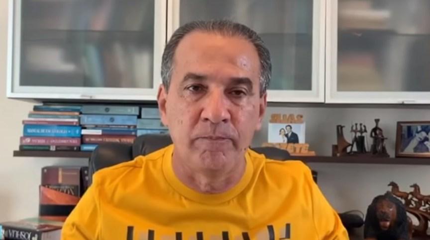 O pastor Silas Malafaia em vídeo publicado em seu canal no YouTube