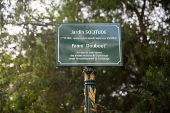 A praça tem o nome de Solitude, mulher negra lutou contra a escravidão
