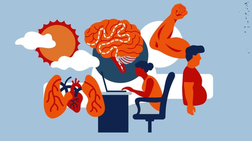 Ficar em casa por tanto tempo contorce o corpo, enfraquece o coração e os pulmões e até prejudica o funcionamento do cérebro