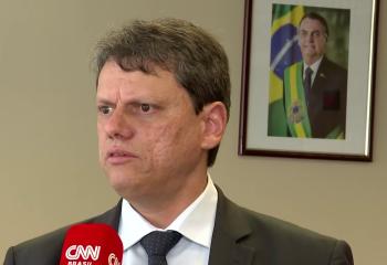Ocupante da pasta da Infraestrutura, Tarcísio de Freitas testou positivo para o novo coronavírus nesta sexta-feira