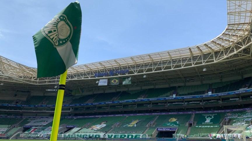 Jogo entre Santos e Palmeiras acontece a partir das 21h no Allianz Parque, em São Paulo