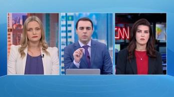Gisele Soares e Verônica Sterman participam da edição matinal do quadro O Grande Debate, da CNN