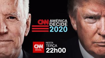 CNN Brasil irá transmitir nesta terça-feira (29) o encontro entre os candidatos nos Estados Unidos, a partir das 21h45