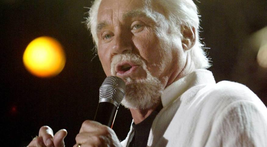 Kenny Rogers em apresentação em Nashville, Tennessee