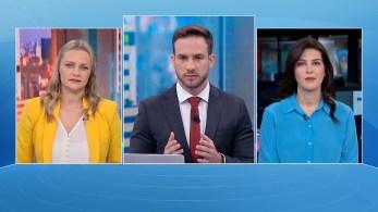 Verônica Sterman e Gisele Soares participam da edição matinal do quadro O Grande Debate, da CNN