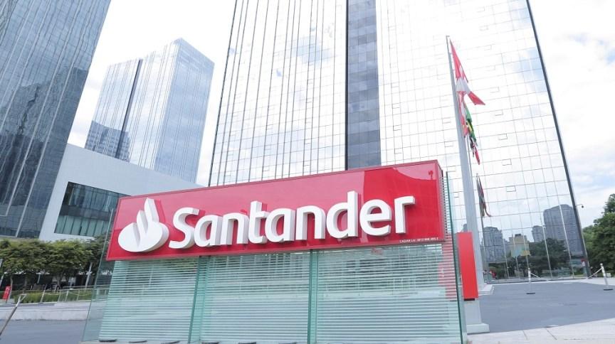 Sede do Banco Santander, no Brasil