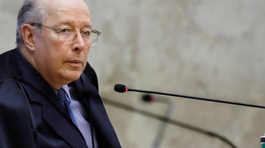 O ministro do STF Celso de Mello
