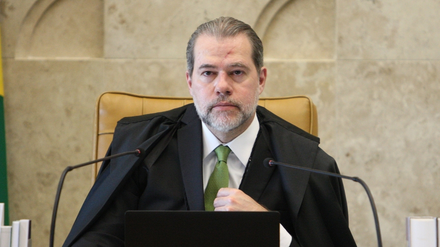 O ministro do STF Dias Toffoli