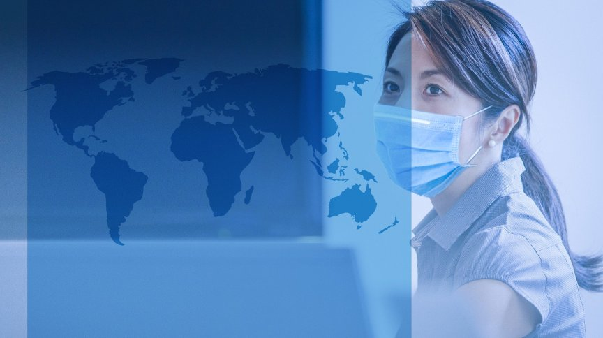 Pandemia do coronavírus se espalha pelo mundo