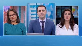 Priscila Pâmela e Gisele Soares participam da edição matinal do quadro O Grande Debate, da CNN