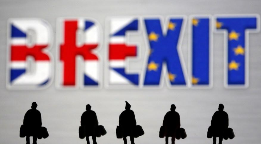 Imagem ilustrativa do Brexit, a saída do Reino Unido da União Europeia