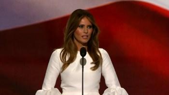 Enquanto o presidente está ocupado descobrindo uma maneira de permanecer na Casa Branca a primeira-dama está determinando o que levar na mudança
