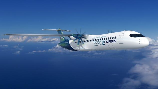Este é o avião conceito turboélice ZEROe