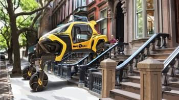O objetivo é fazer com que o novo veículo consiga não apenas circular como um automóvel convencional, mas, também, alcançar lugares que antes não seria possível