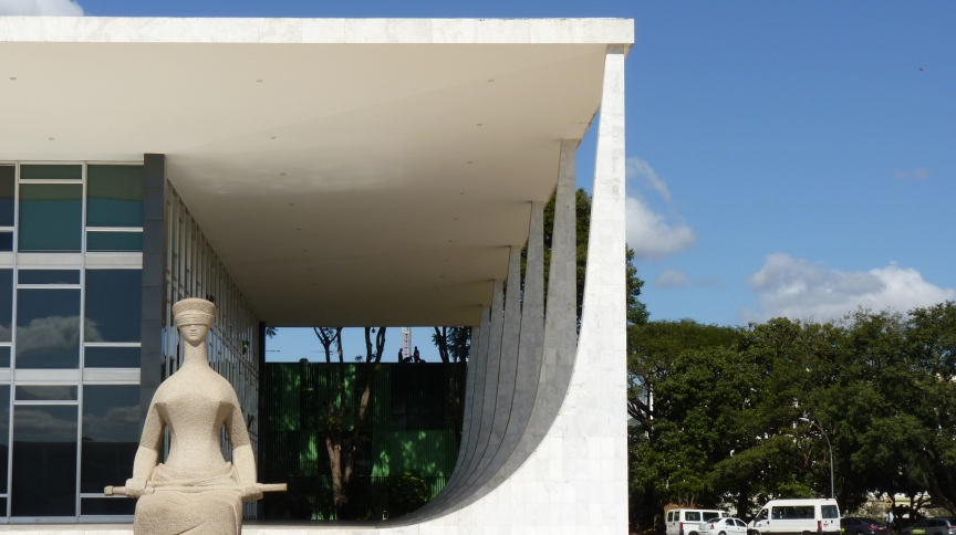 Sede do Supremo Tribunal Federal (STF), em Brasília
