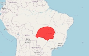 Até a próxima sexta-feira (9), parte da região Centro-Oeste e do estado do Tocantins devem registrar temperaturas acima da média
