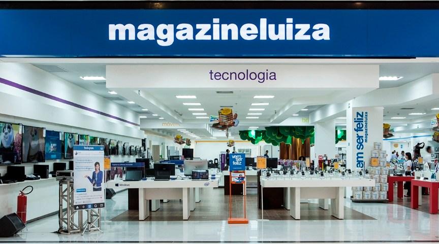 Loja da Magazine Luiza: Ação da empresa valorizou quase 30% em maio e liderou os ganhos