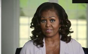 """A ex-primeira-dama publica vídeo com sua """"mensagem final"""" antes das eleições americanas"""