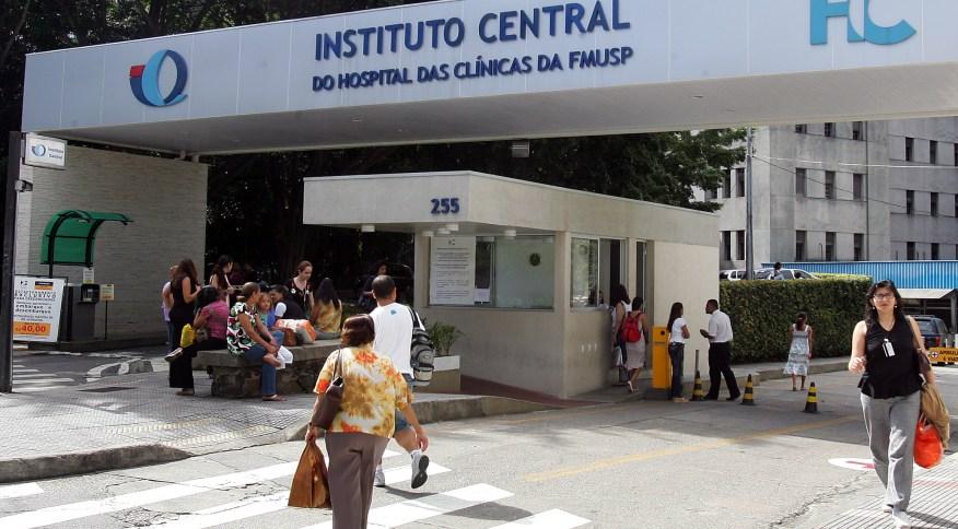 Fachada do Hospital das Clínicas de São Paulo (26.dez.2007)