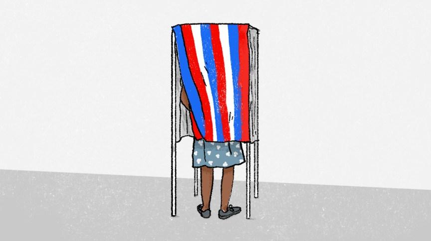 Cerca de dois terços dos estados exigem que os eleitores qualificados se registrem antes do dia da eleição