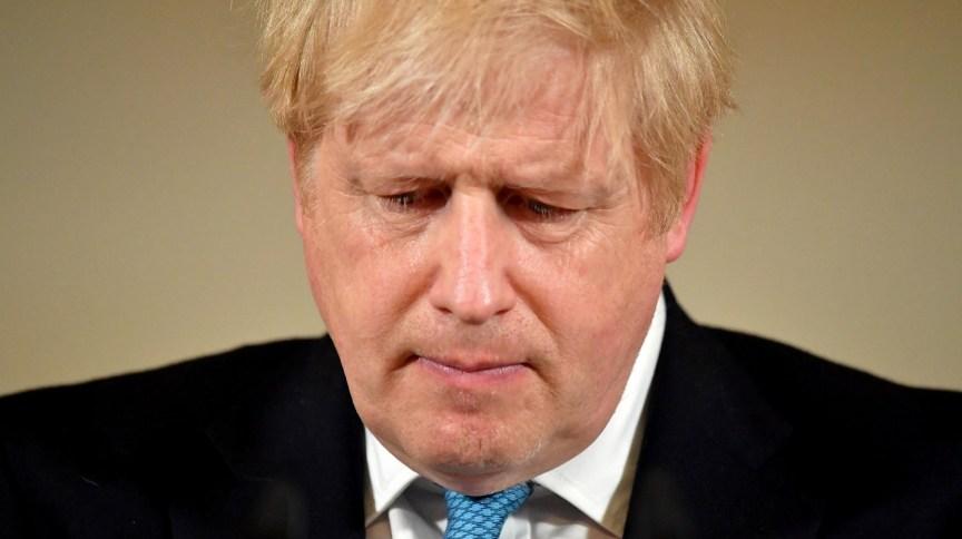 Boris Johnson, primeiro-ministro do Reino Unido (19.mar.2020)