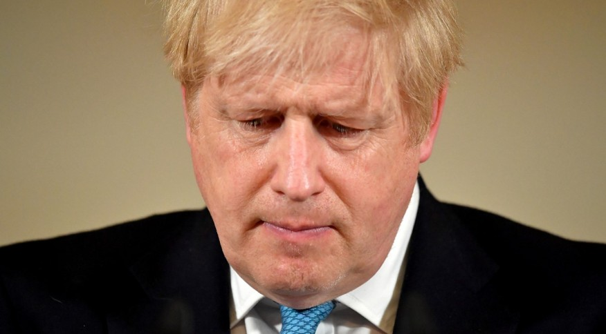 O primeiro-ministro do Reino Unido, Boris Johnson (19.mar.2020)
