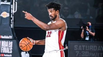 Butler se tornou o segundo jogador com pelo menos dois triplos-duplos de 30 pontos em uma única série de finais da NBA