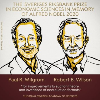 Segundo a Real Academia Sueca de Ciências, o prêmio foi dado em virtude do trabalho da dupla com a teoria de leilões
