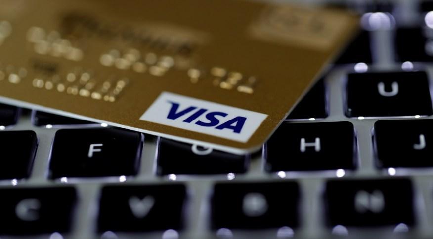 Cartão da Visa: Empresa sofre com a concorrência de novos meios de pagamento
