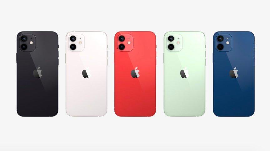 iPhone 12 foi anunciado nesta terça-feira (13) e estará disponível em cinco cores