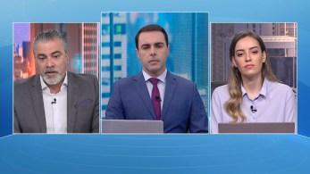 Thiago Anastácio e Maria Fernanda Saad participam da edição matinal do quadro O Grande Debate, da CNN