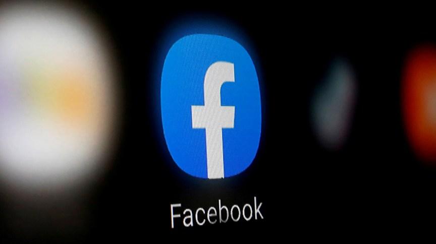 Aplicativo do Facebook em um smartphone
