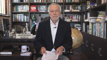 Sidney Rezende e Alexandre Garcia comentam política no quadro Liberdade de Opinião, da CNN