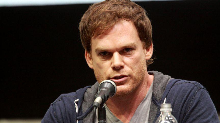 O ator Michael C. Hall, que interpreta o personagem principal da série Dexter