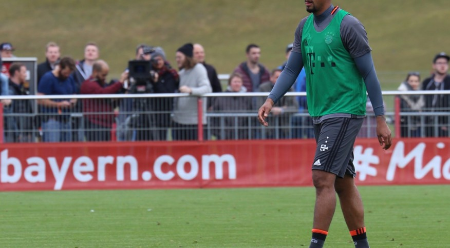 O zagueiro Jerome Boateng, do Bayern de Munique