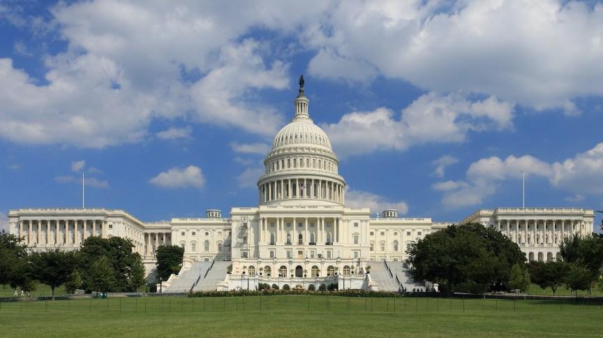 Capitólio em Washington, sede do Poder Legislativo dos EUA