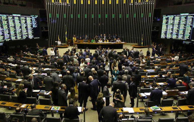 Sessão do Congresso, em Brasília