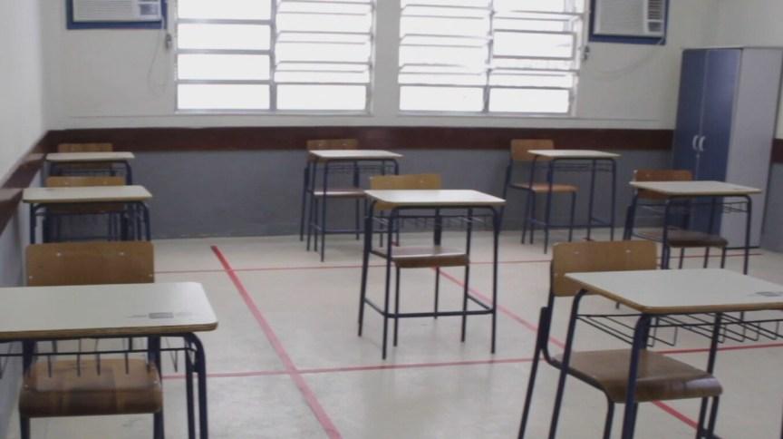 Colégios em São Paulo retomaram as aulas presenciais