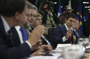 Emedebista participou de videoconferência com Nelson Teich junto com governadores da região Norte