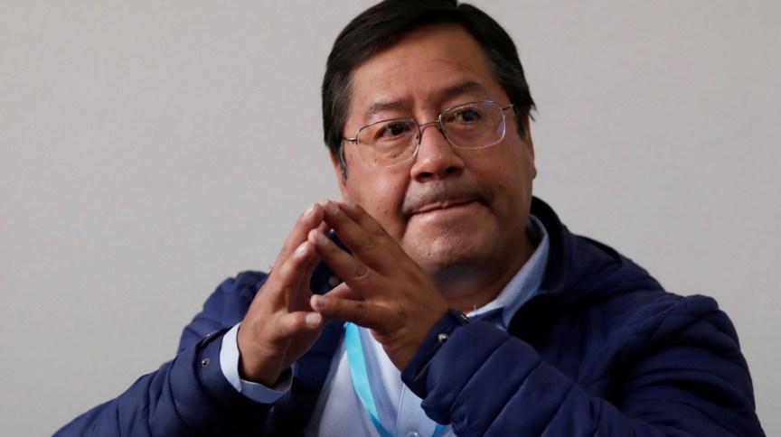 Luis Arce, presidente eleito da Bolívia pelo MAS