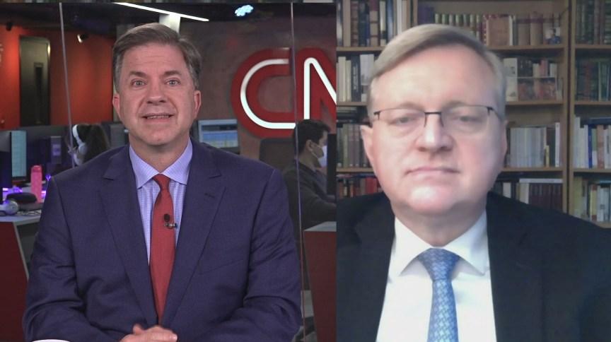 Todd Champann, embaixador dos EUA no Brasil, e o diplomata Nestor Forster