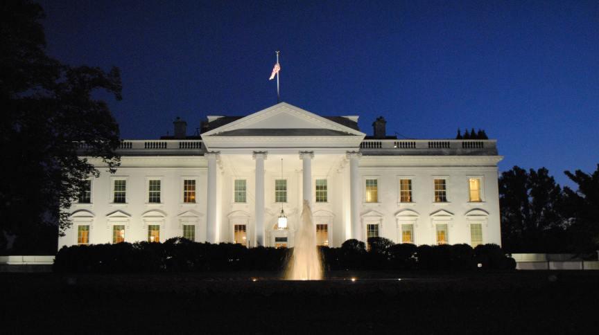 Casa Branca, residência oficial do presidente dos EUA