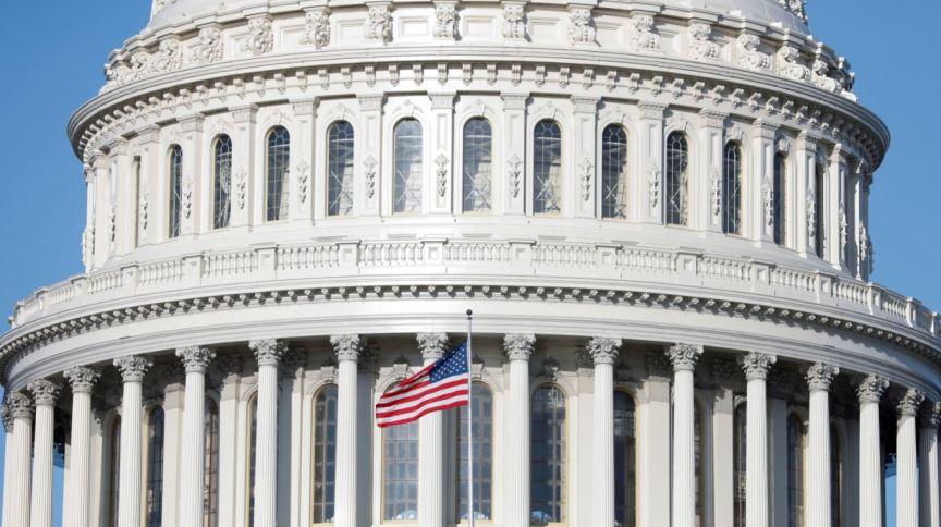 Capitólio, sede do Congresso americano em Washington